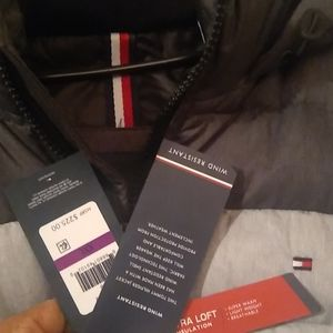 Tommy Hilfiger puffy windbreaker jacket